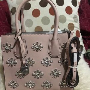NWOT.  MICHAEL KORS Bejeweled Party Crossbody